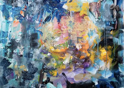 Healing Waters, 2013, Mixed Media,48 x 48 in.