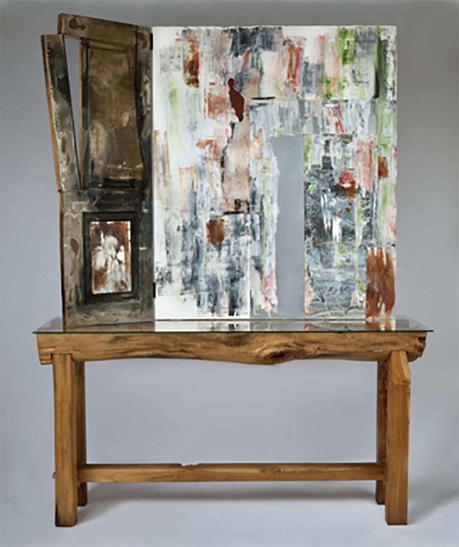 Portals, 2011. Mixed Media,79 x 60 x 20 in