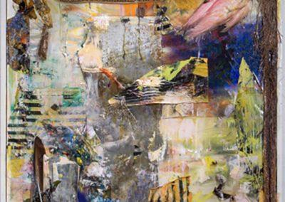 Twelve Thirteen, 2014, Mixed media49 x 41 in.